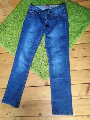 s. Oliver (QS designed) Boot Cut Jeans blue
