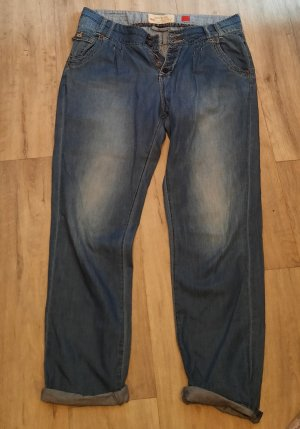 Jeans boyfriend gris ardoise
