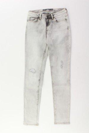 s.Oliver Jeans Größe W27 grau aus Baumwolle