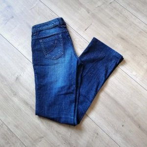 s.Oliver Hoge taille jeans blauw
