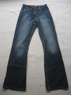 s.Oliver Jeansy z prostymi nogawkami niebieski