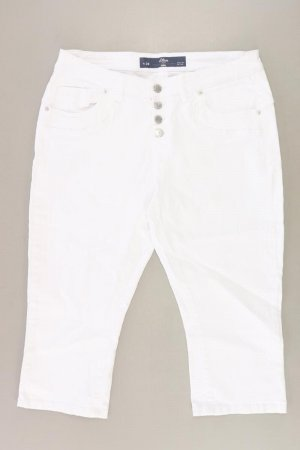 s.Oliver 3/4 Length Jeans natural white cotton