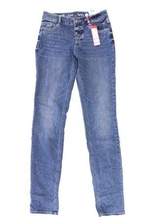 s.Oliver Jeans neu smart straight blau Größe 34/L36