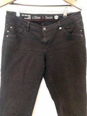 S.Oliver jeans schwarz super skinny Gr. 38/34
