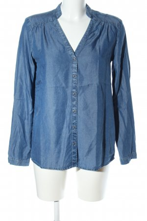 s.Oliver Jeansbluse blau Casual-Look