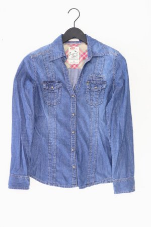 s.Oliver Jeansbluse Größe 38 neuwertig Langarm blau aus Polyester