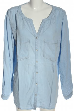 s.Oliver Denim Shirt blue casual look
