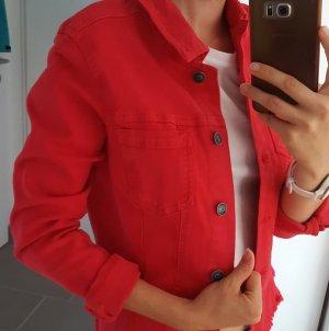 s.Oliver Denim Jacket bright red-red
