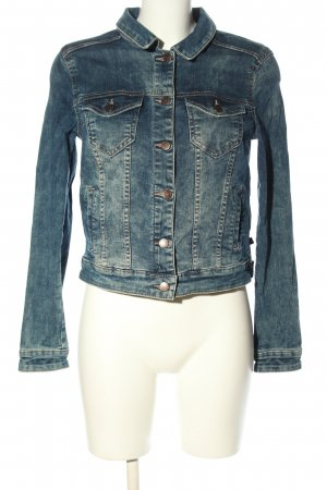 s.Oliver Jeansjacke blau Casual-Look