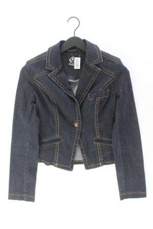 s.Oliver Denim Jacket blue-neon blue-dark blue-azure cotton