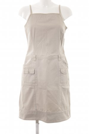 s.Oliver Jeanskleid beige Casual-Look