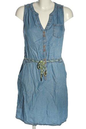 s.Oliver Jeanskleid blau Casual-Look
