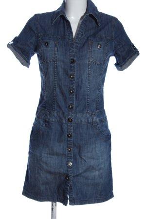 s.Oliver Denim Dress blue casual look