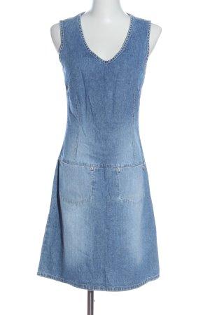 s.Oliver Robe en jean bleu style décontracté