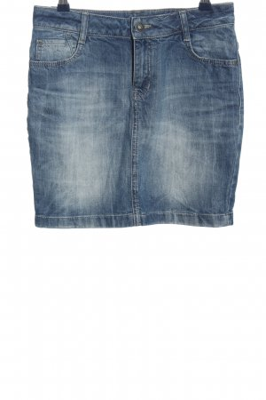 s.Oliver Jeansrock blau Casual-Look