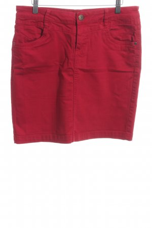 s.Oliver Jeansrock rot Casual-Look