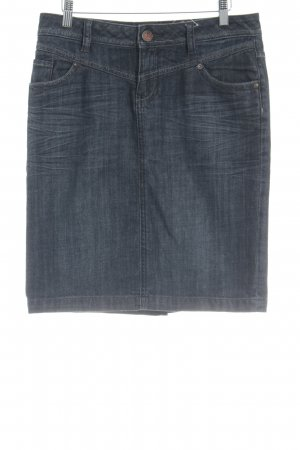 s.Oliver Jeansrock anthrazit Casual-Look
