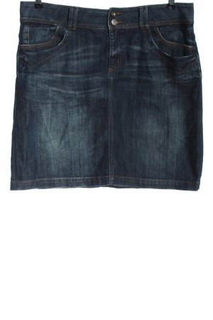 s.Oliver Jeansrock blau Street-Fashion-Look