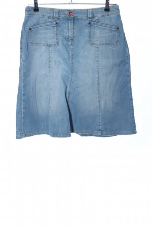 s.Oliver Denim Skirt blue casual look