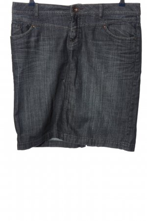 s.Oliver Jeansrock hellgrau Casual-Look