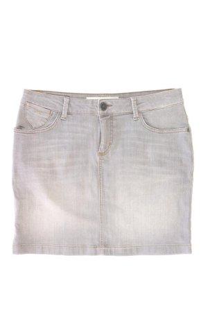 s.Oliver Jeansrock Größe 40 grau aus Baumwolle