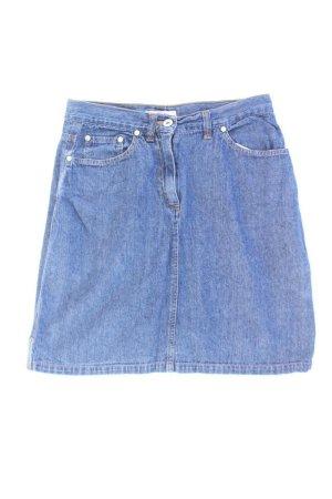 s.Oliver Jeansrock Größe W30 Vintage blau aus Baumwolle