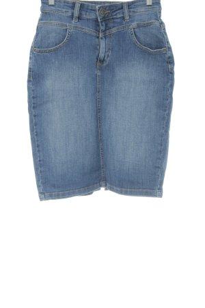 s.Oliver Jeansrock mehrfarbig Jeans-Optik