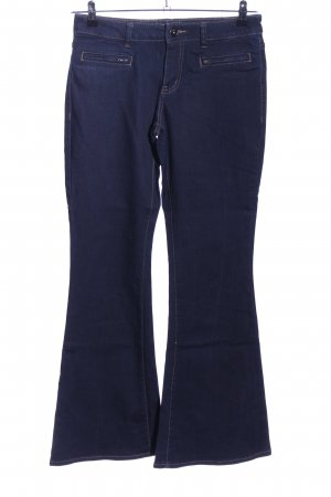 s.Oliver Jeansschlaghose blau Casual-Look