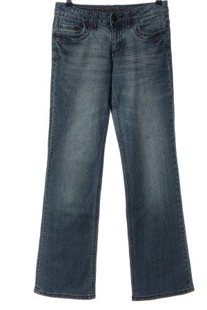 s.Oliver Jeansowe spodnie dzwony niebieski W stylu casual