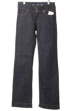 s.Oliver Jeans flare bleu foncé style décontracté