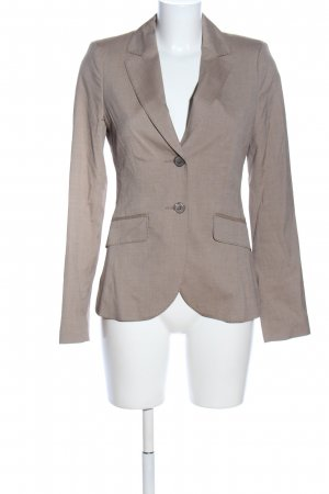 s.Oliver Jerseyblazer braun Webmuster Business-Look