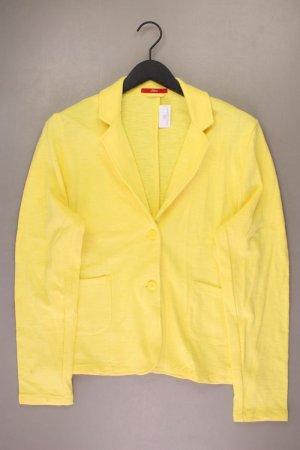 s.Oliver Jerseyblazer Größe 46 gelb aus Baumwolle