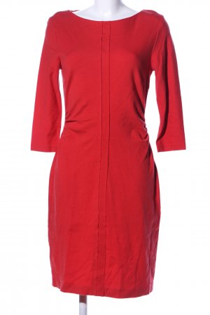 s.Oliver Jerseykleid rot Business-Look