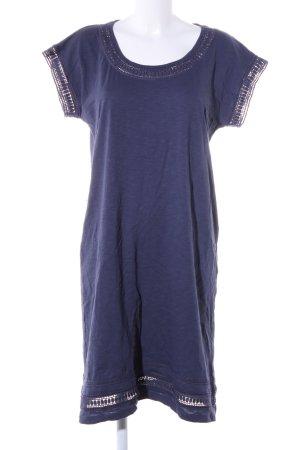 s.Oliver Jerseykleid blau Casual-Look