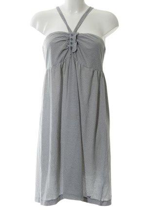 s.Oliver Jerseykleid schwarz-weiß Streifenmuster Casual-Look