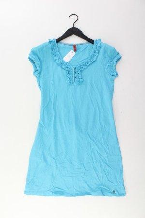 s.Oliver Jerseykleid Größe 40 Kurzarm blau aus Baumwolle
