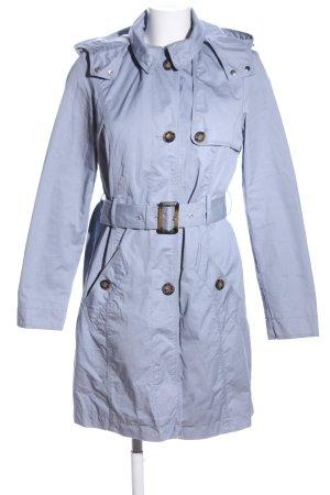 s.Oliver Abrigo con capucha gris claro look casual