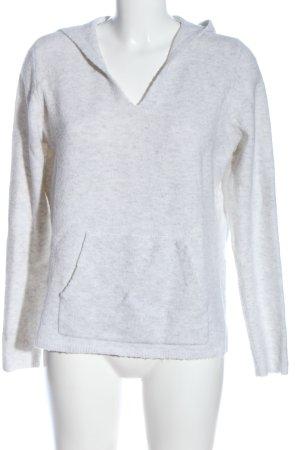 s.Oliver Jersey con capucha gris claro moteado look casual