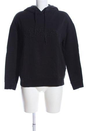 s.Oliver Kapuzensweatshirt schwarz Casual-Look