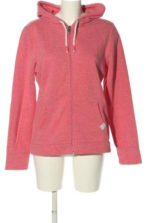 s.Oliver Kapuzensweatshirt pink meliert Casual-Look