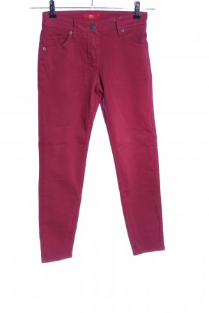s.Oliver Peg Top Trousers pink casual look