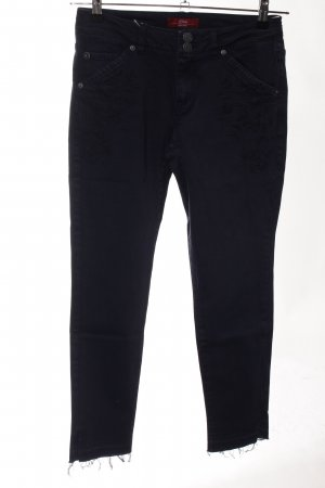 s.Oliver Carrot Jeans black casual look