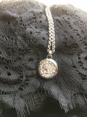 s. Oliver Kette 925er Silber mit funkelnden Kristallen NEU