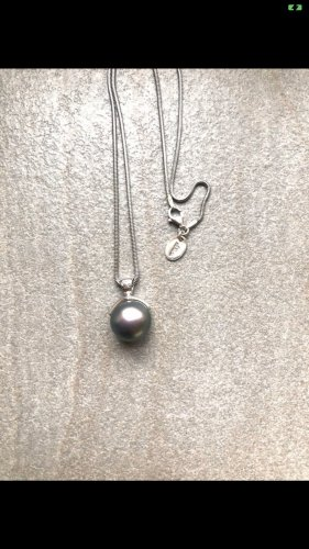 s.Oliver Necklace silver-colored-grey