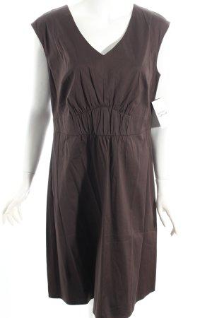 S.oliver Kleid 40 l braun Midikleid etuikleid