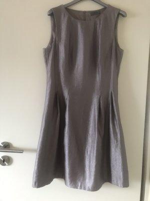 s.Oliver Cocktail Dress grey brown viscose
