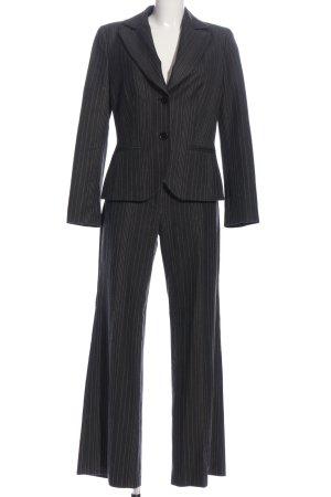 s.Oliver Kostüm schwarz-weiß Streifenmuster Business-Look