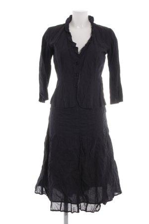 s.Oliver Kostüm dunkelblau extravaganter Stil