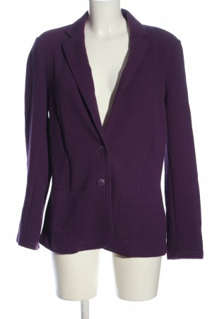 s.Oliver Long-Blazer lila Casual-Look