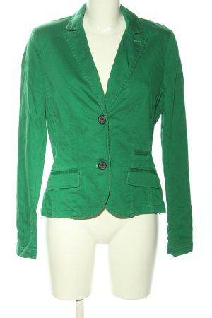 s.Oliver Kurz-Blazer grün Business-Look